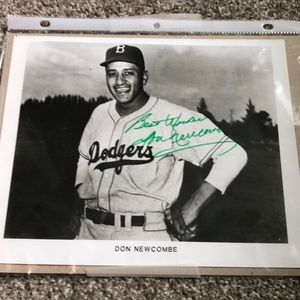 Other - Signed Don Newcombe picture